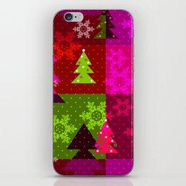 Crimson Christmas iPhone Skin