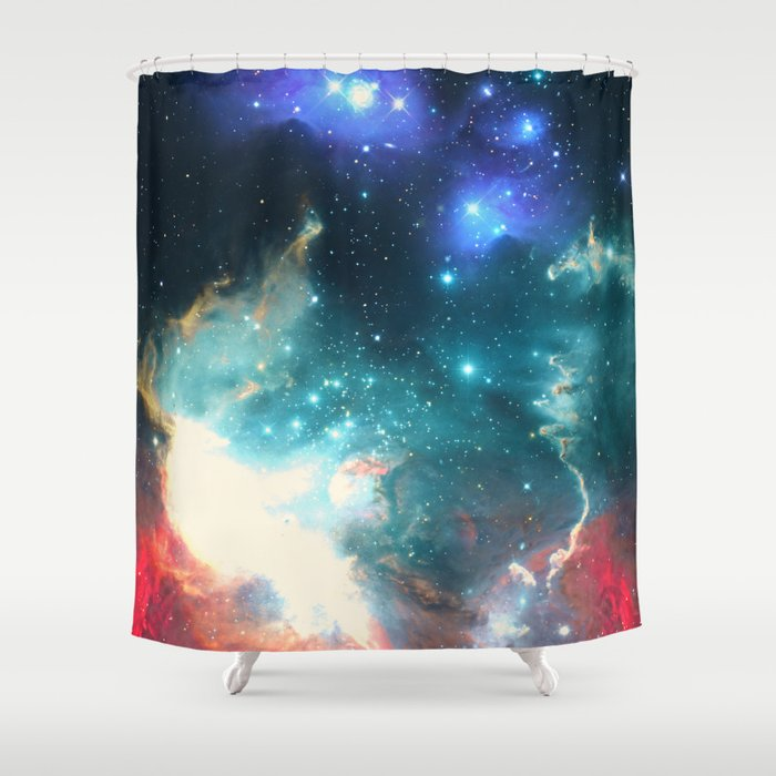 Echoes Of The Stars Shower Curtain