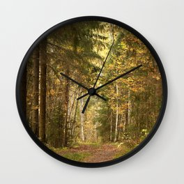 Wanderlust In The Forest #decor #society6 #buyart Wall Clock