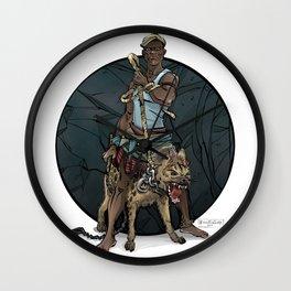 African Thug Wall Clock