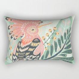 Hoopoe Bird Rectangular Pillow