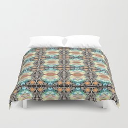 And The Beat Goes On Duvet Cover