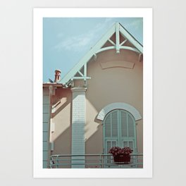 maison Art Print