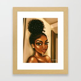 GO GINA Framed Art Print