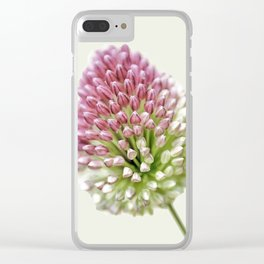 Onion, flower Clear iPhone Case