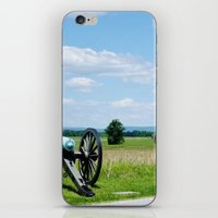 battlefield iPhone & iPod Skins featuring Gettysburg Battlefield 3 by Scenic Sights by Tara