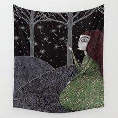 My Winter Stars Wall Tapestry
