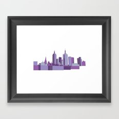 Melbourne Framed Art Print