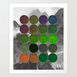 Crop Circles 2 Art Print