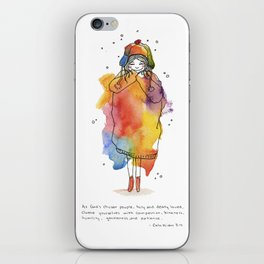 Clothed with Love iPhone Skin