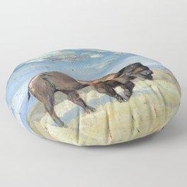 bison Floor Pillow