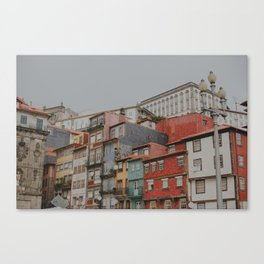 Oporto charming colours Canvas Print