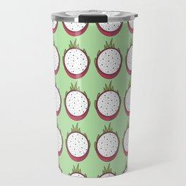 Dragon fruit pattern Travel Mug