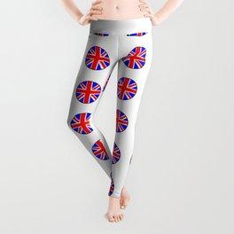 Flag of UK 15- London,united kingdom,england,english,british,great britain,Glasgow,scotland,wales Leggings