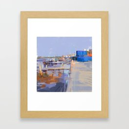 Jun 5, Sankt-Peterburg Framed Art Print