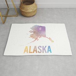 Watercolor State - AK Rug