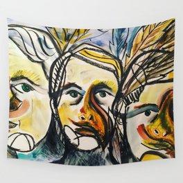 she bird Wall Tapestry