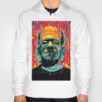 frankenstein Hoodies featuring Frankenstein by nicebleed