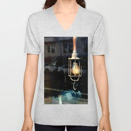What Light Through Yonder Window... Unisex V-Neck