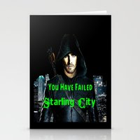 arrow Stationery Cards featuring Arrow by SwanniePhotoArt