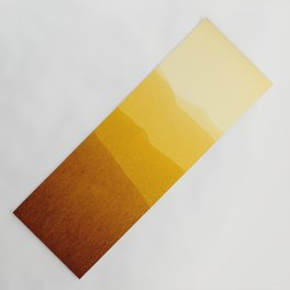gradient landscape - sunshine edit Yoga Mat
