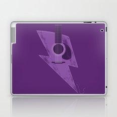 Electric - Acoustic Lightning Laptop & iPad Skin