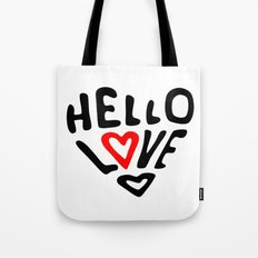 Hello Love Tote Bag