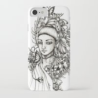 fairy iPhone & iPod Cases featuring Fairy by Anca Chelaru