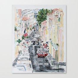 Sète Canvas Print