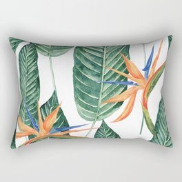 Banana And Flowers #society6 Rectangular Pillow
