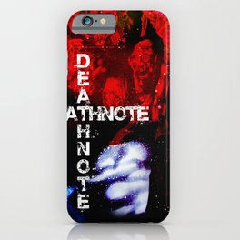 D Note iPhone Case