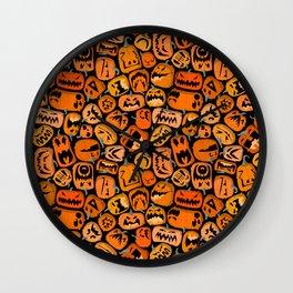 Pumpkin Brawl. Wall Clock