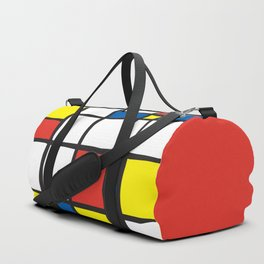 Mondrian Variation 2 Duffle Bag