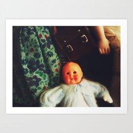 Baby Eyeless Art Print