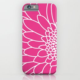 Pink Gerbera iPhone Case