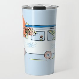 Happy Little Surf Van Travel Mug