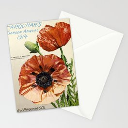 garden 017 Poppy Orientale Stationery Cards