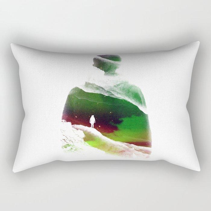 Lucid isolation Rectangular Pillow