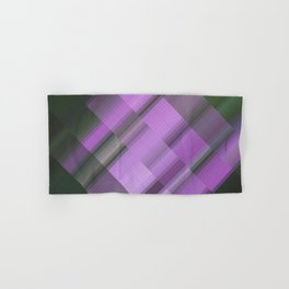 Ultraviolet. Abstract gradient art geometric background with soft color tone, cell grid. Ideal for a Hand & Bath Towel