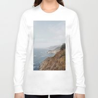 big sur Long Sleeve T-shirts featuring SUR MAJESTY by D.H. Currier