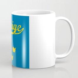 Sweden, Sverige, vintage poster Coffee Mug