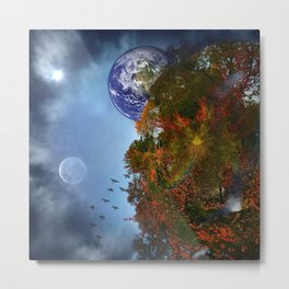 The Sky is Falling Metal Print
