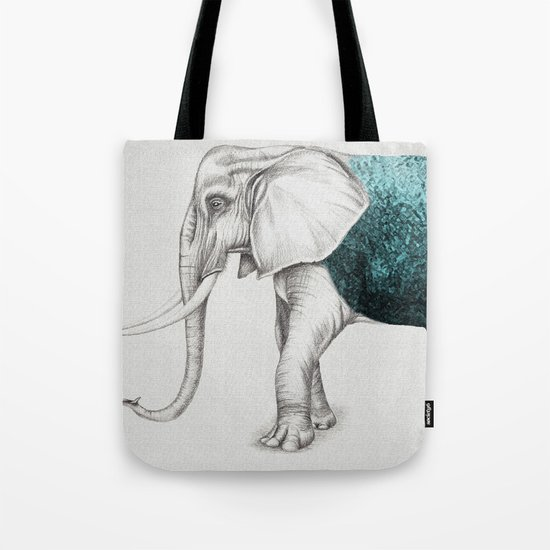 The Stone Elephant Tote Bag