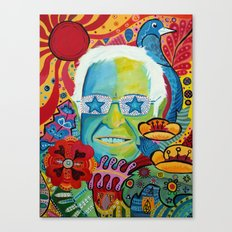 Berning Down The House Canvas Print