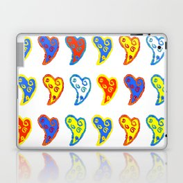 Colorful love in a colorful life Laptop & iPad Skin