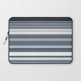 Navy Blue Stripes Laptop Sleeve