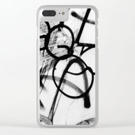 Scribble2 Clear iPhone Case