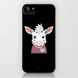 White Horse Rider iPhone Case