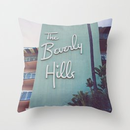 Beverly Hills Mod Throw Pillow