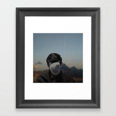 The truth is dead 7 Framed Art Print